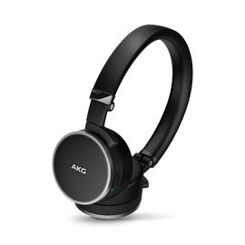 N60 NC - Black - First class noise-cancelling headphones fine-tuned for travelling - Hero
