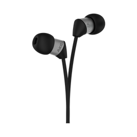 Y23 - Black - The smallest in-ear headphones with AKG signature sound - Hero