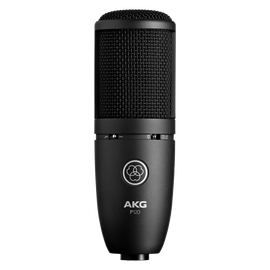P120 - Black - High-performance general purpose recording microphone - Hero