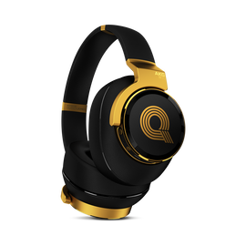 N90Q - Gold - Reference class auto-calibrating noise-cancelling headphones - Hero