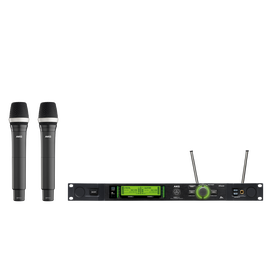 DMS800 Vocal Set D5 - Black - Reference digital wireless microphone system - Hero
