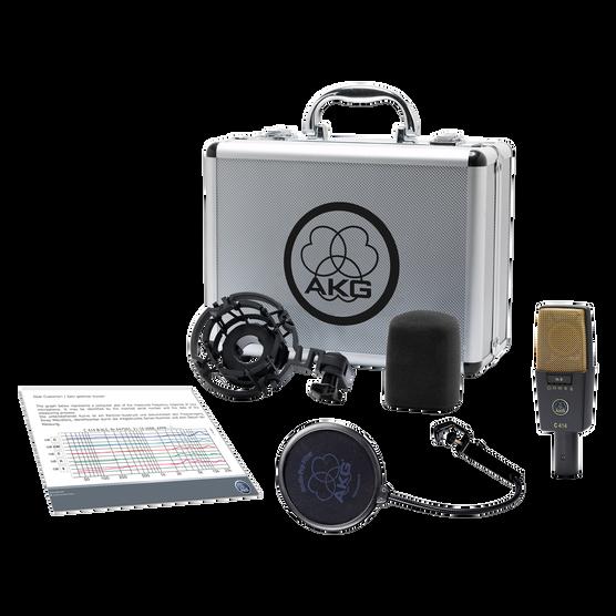 C414 XLII - Black - Reference multipattern condenser microphone - Detailshot 1
