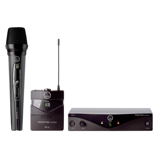Perception Wireless - Black - High-performance wireless microphone system - Hero
