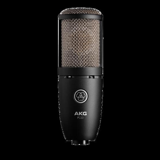 P220 - Black - High-performance large diaphragm true condenser microphone - Hero