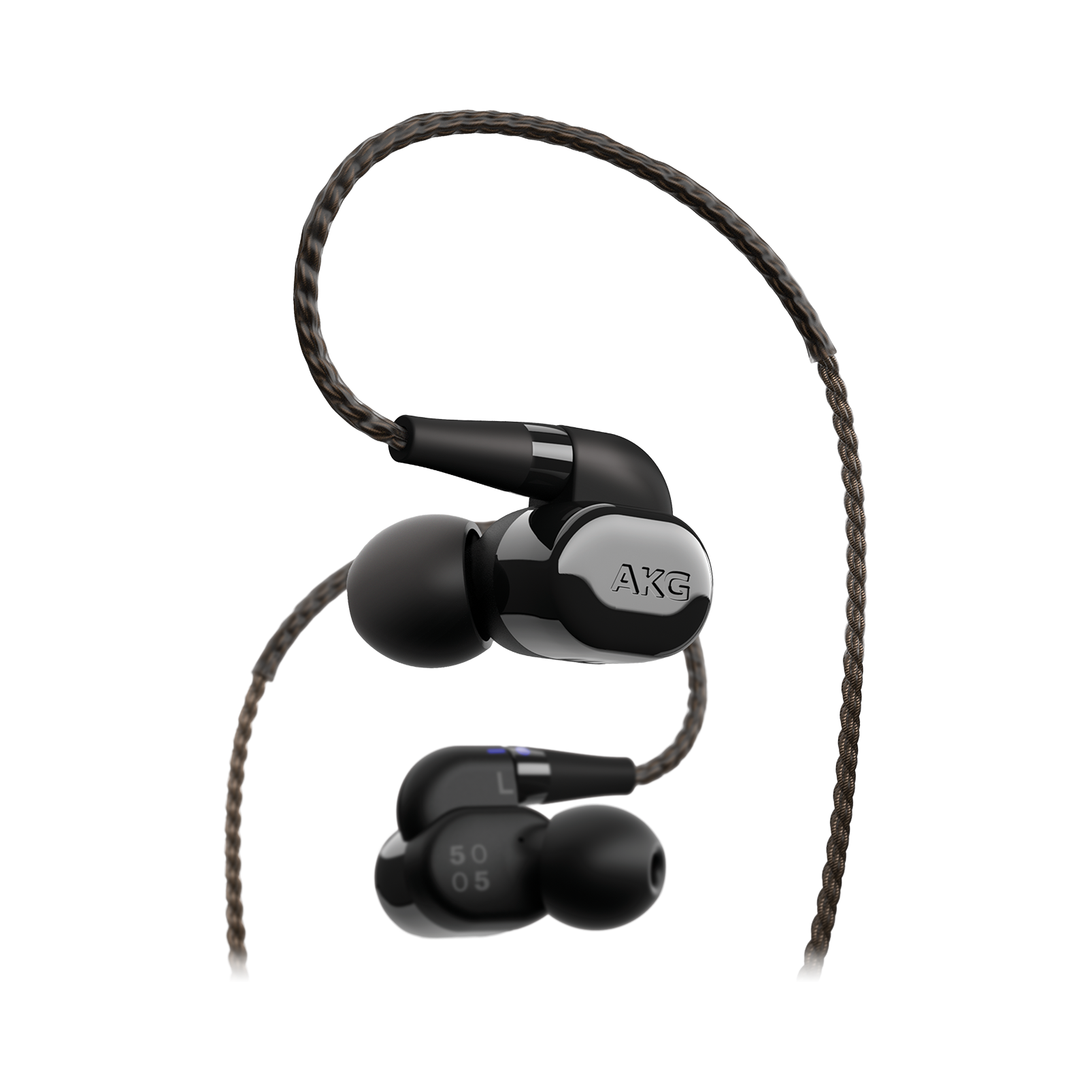 AKG N5005 - Black - Reference Class 5-driver configuration in-ear headphones with customizable sound - Detailshot 1