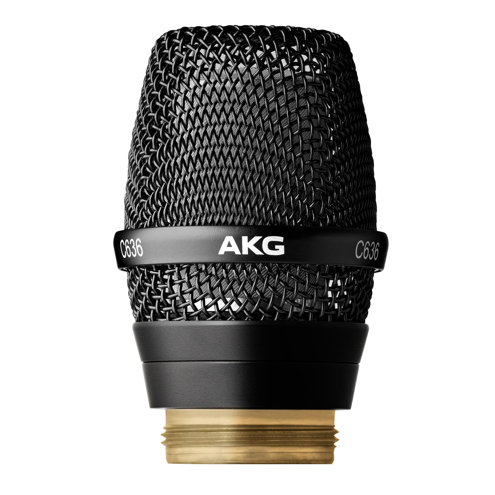C636 WL1 - Black - Master reference condenser vocal microphone head - Hero
