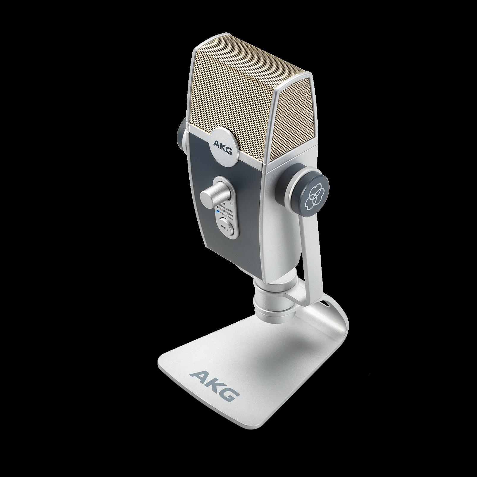 AKG Lyra - Silver - Ultra-HD Multimode USB Microphone  - Detailshot 3