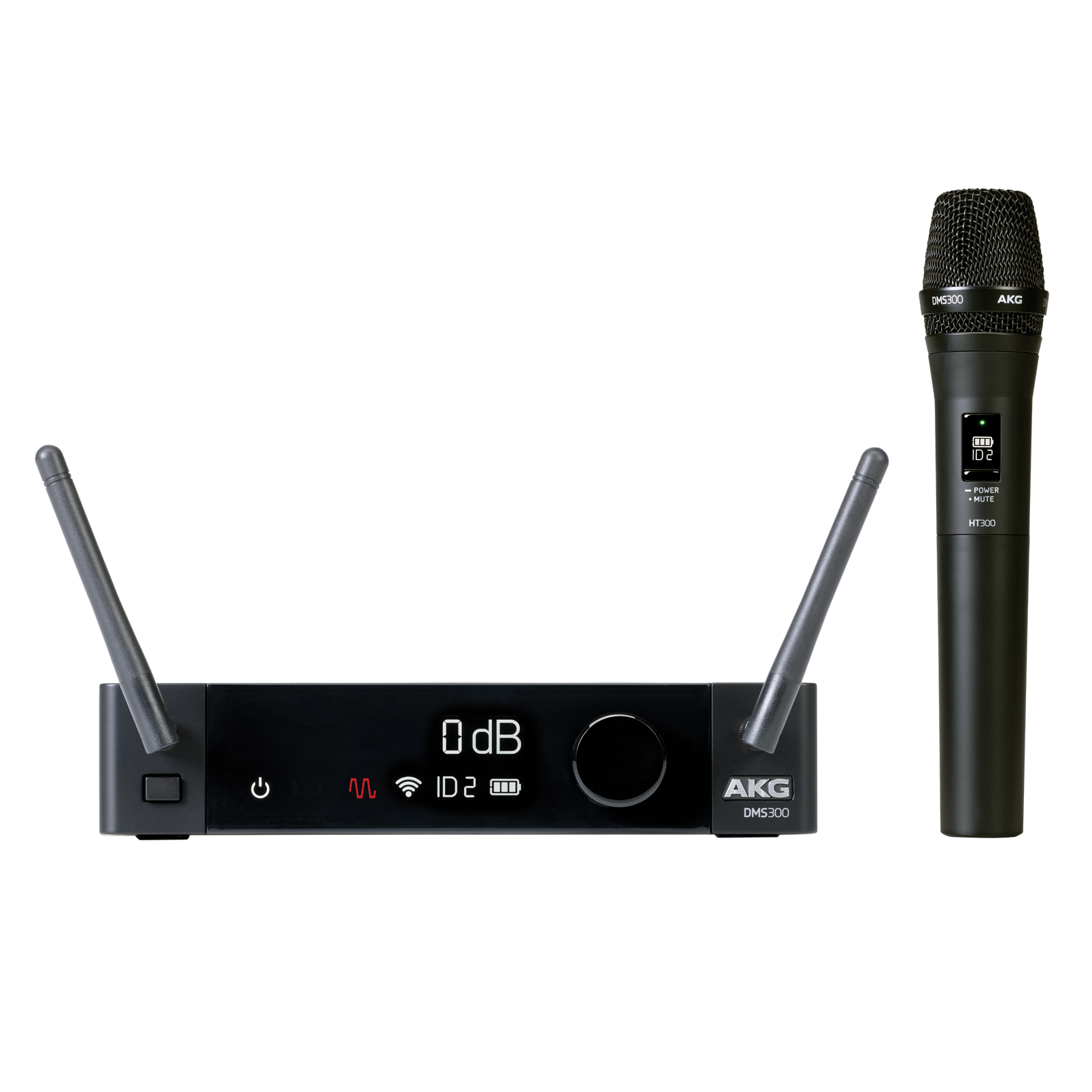 DMS300 - Black - Digital wireless microphone/instrument systems - Hero