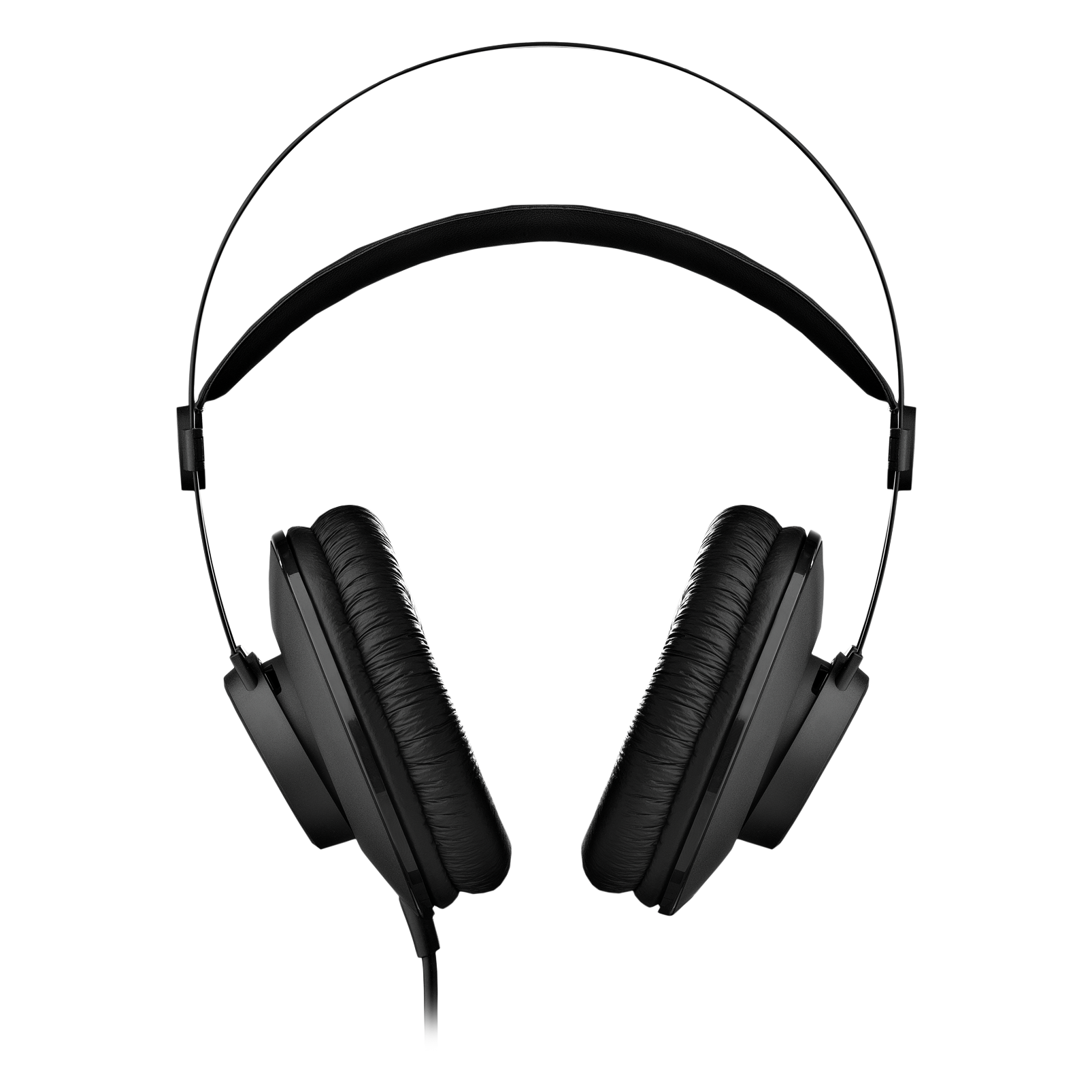 K52 - Black - Closed-back headphones - Front